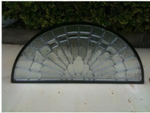Halfmoon Glass for Windows and Doors