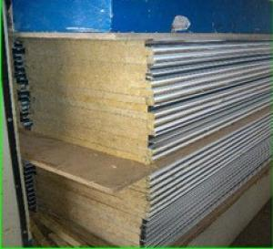 Rock Wool Sandwich Panel For Wall Insulation