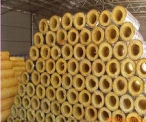 Glass Wool Pipe With Alu Foil Covering Sound Absorption And Noise Reduction