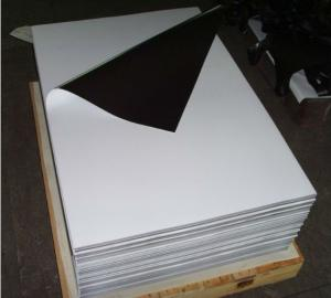 Magnetic Sheeting with  Matte White Vinyl PVC
