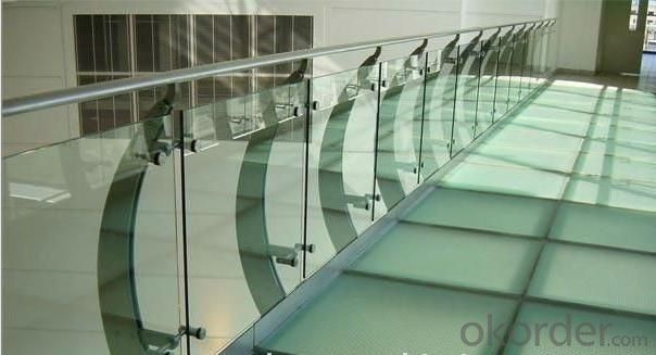 Handrail Tempered Laminated Glass
