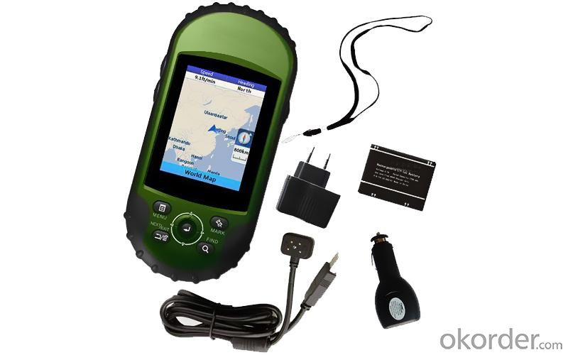 GPS 400 Detail & Customized Backgroud Map