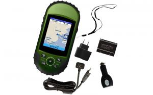 GPS 400 Detail & Customized Backgroud Map