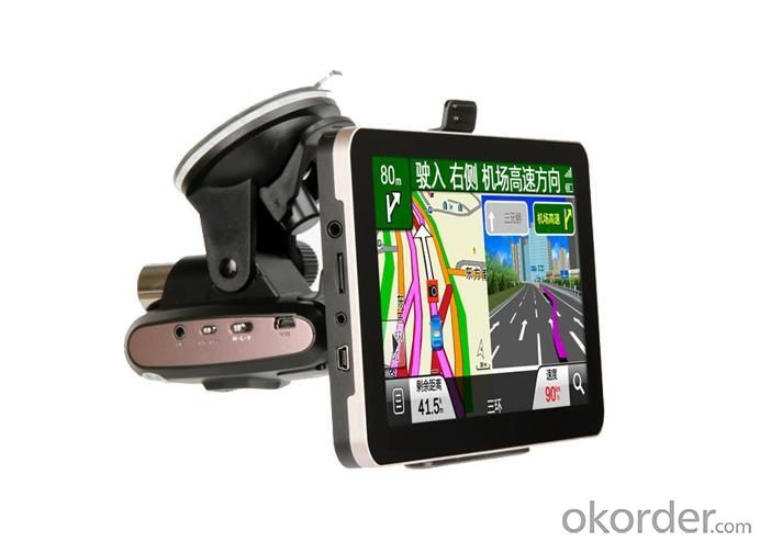 7 Inch GPS Navigation With Driving Recorder, New Design