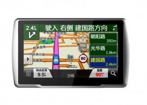 5 Inch Car GPS Navigation With CE/FCC/RoHS Certificates