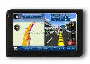 5 Inch GPS Navigation Built-in 128M 4G