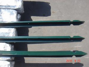 PVC Coated T Fencing Post