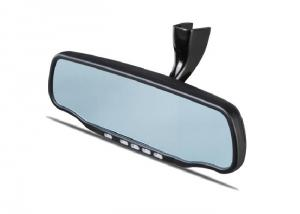 Car Rearview Mirror GPS with DVR Bluetooth AV IN