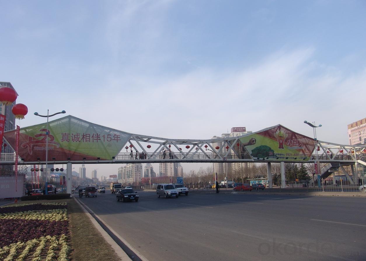 City Overpass Steel Structure