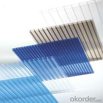 100% Virgin Bayer Material And UV Protected Twin-Wall Polycarbonate Sheet