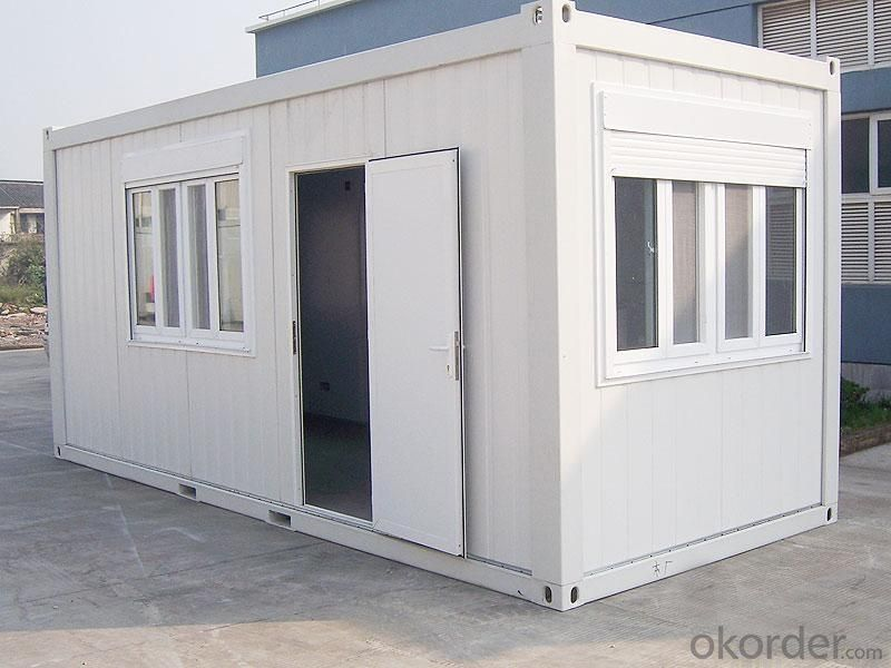 Prefabricated Office & Homes with Light Galvanized Steel