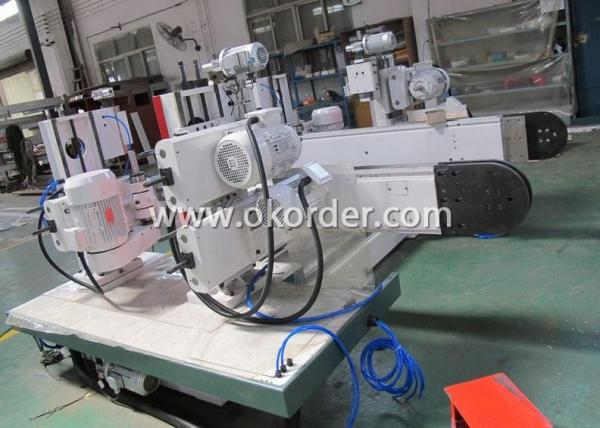 """Double End Tenoner For Wood Floor Production Lines FMD8625"""