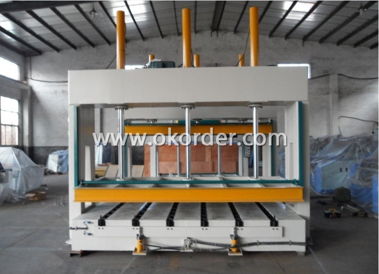 1000mm Hydraulic Cold Press Machine for Wood Pressing
