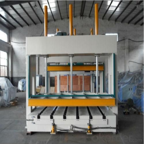 Hydraulic Cold Press Machine for Wood Pressing 1000mm