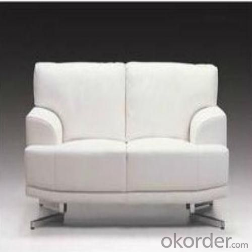 European White Fabric Sofa Set