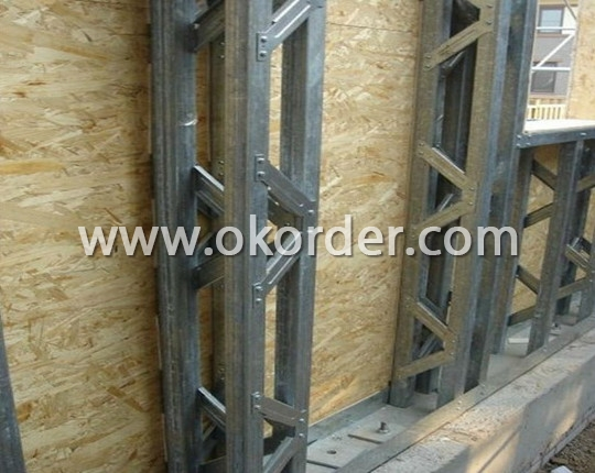 Steel Frame System + OSB Board of Prefab Homes