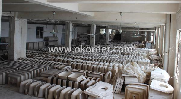 production process of 043 Stand Urinal-1