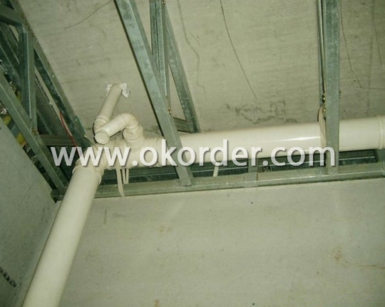 Inner Pipes System of Prefab Homes