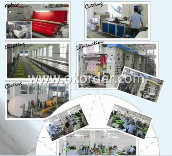 Production flow of Rice PP Woven Bag