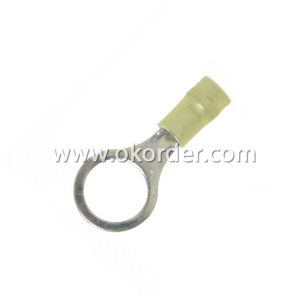 Copper crimping terminals with Nylon