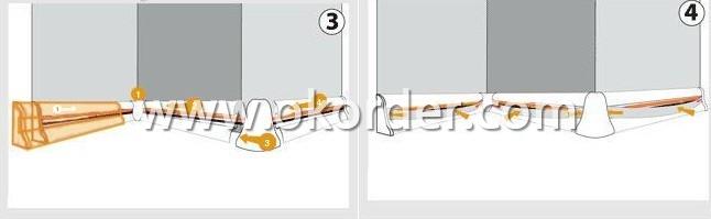 installation instruction of Skirting Board(Match 8mm Floor)-2