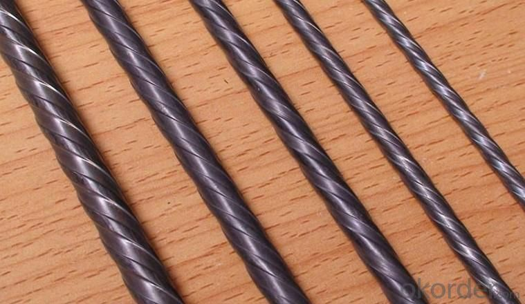 High Quality Indented PC Steel Wire