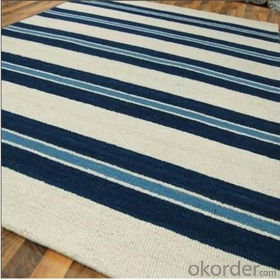 Recycled Polyester Hook Carpet Handmade