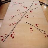 Wool Cut-loop Pile Floor Carpet