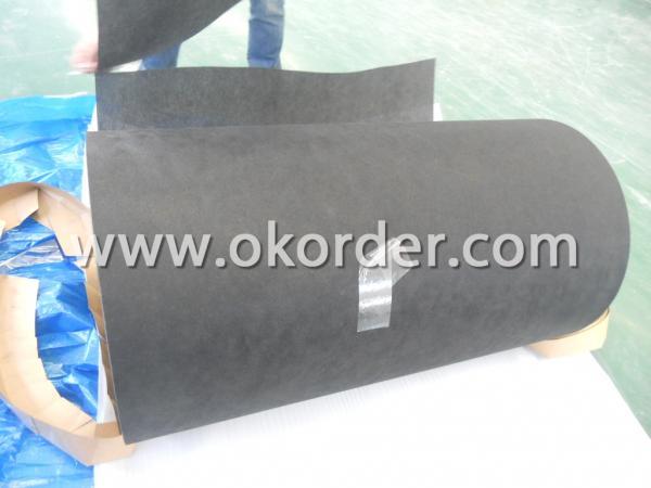 black tissue roll