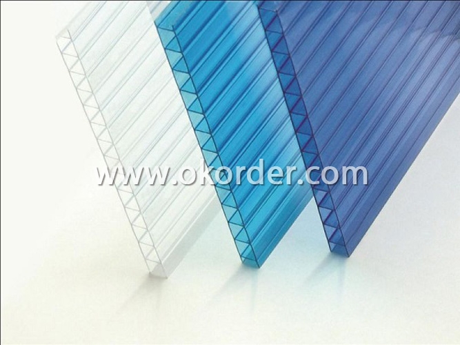 Two Wall Polycarbonate Sheet