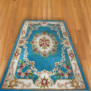 Carved Polyester Hand Tufted Carpet