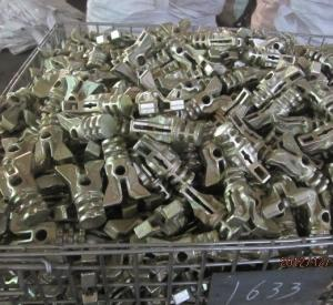 Scaffolding Parts-Hot Dip Galvanized Repidshor Ledger End