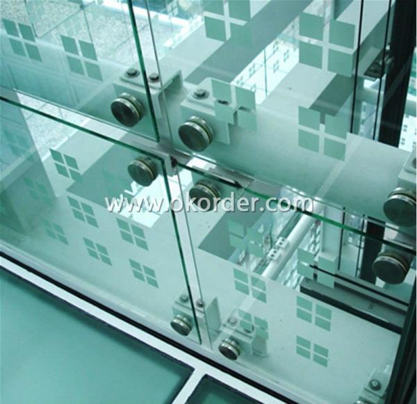 8mm+1.52PVB+8mm clear tempered/toughened laminated glass