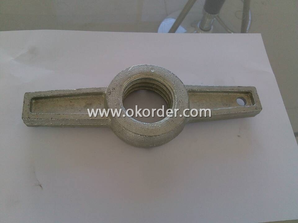 Scaffolding Parts-hot dip galvanized Jack Nut