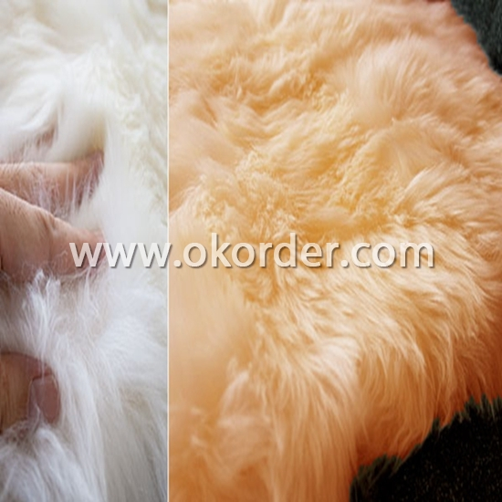 Natural Sheepskin Floor Carpet
