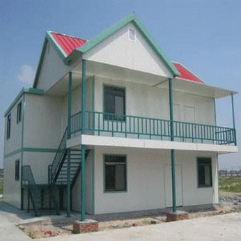 Modern Design And Low Cost Sandwich Panel Houses