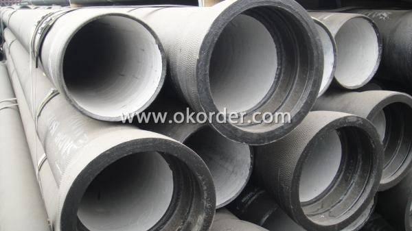 ISO2531 SOCKET SPIGOT DUCTILE IRON PIPES