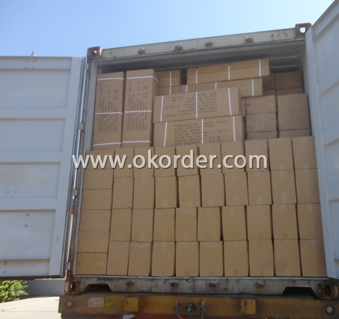 Package of Polyester Plain Screen Mesh