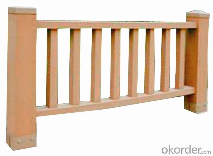 Wood Plastic Composite Fence/Rail CMAX SR001