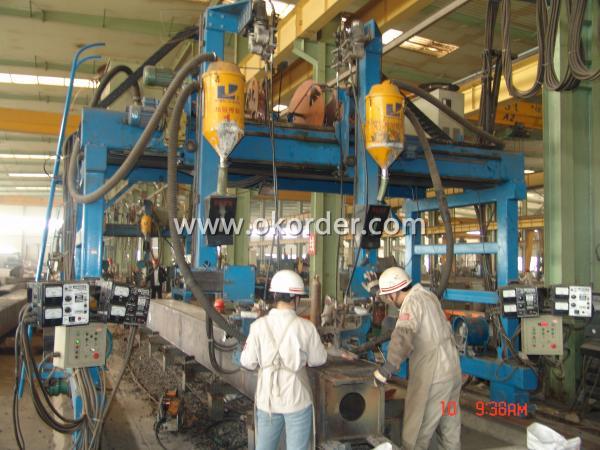 steel structure welding machine