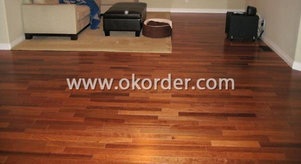 ECO friendly Solid Kempas Flooring
