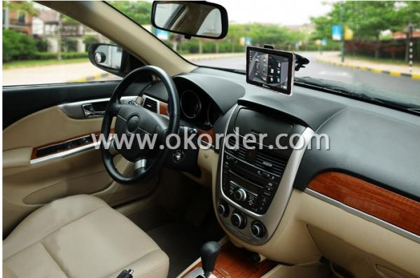 Application of 7 Inch GPS Navigation System With Touch Screen