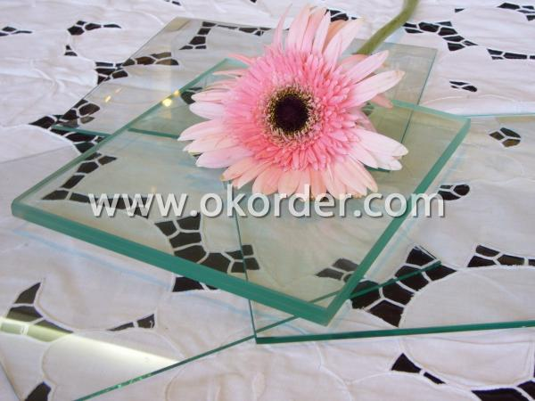 3-25mm clear float glass