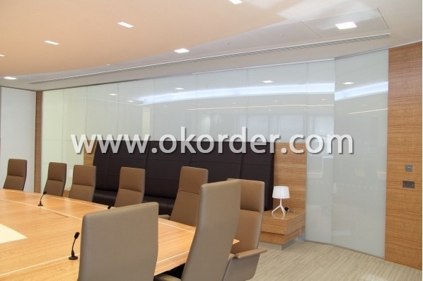 Privacy Glass for partition of meeting room