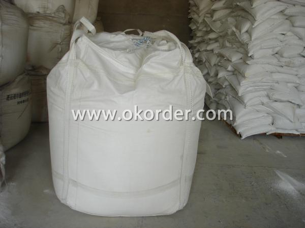 The white powder packaged into Bags.
