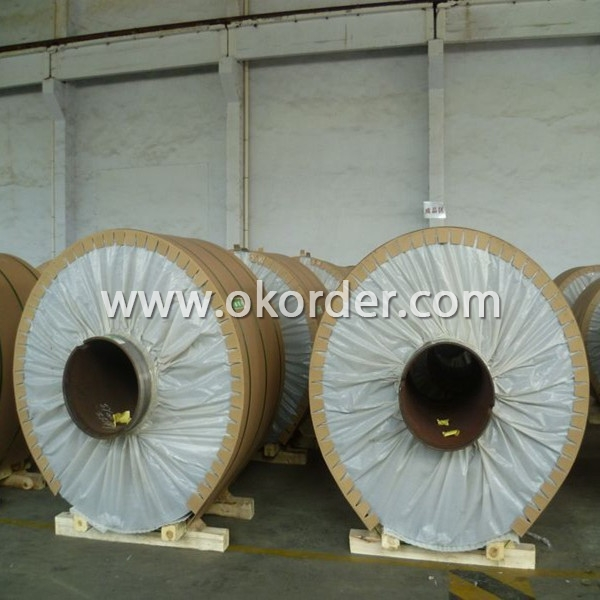 China Manufacturer Embossed Aluminum Coils 1XXX Eye to wall package.