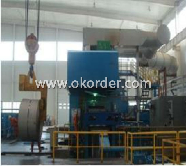 Cold Rolling Mill for Tinplate