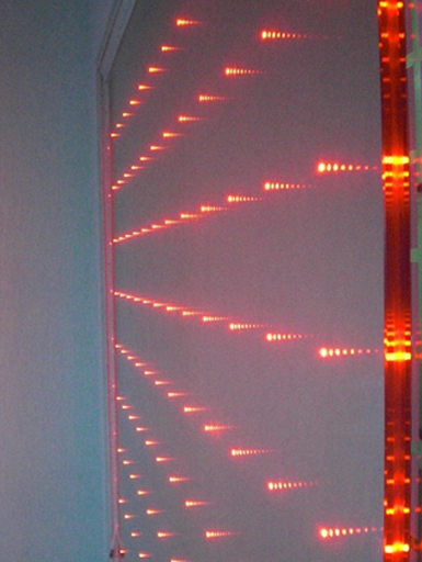 LED Glass for partition