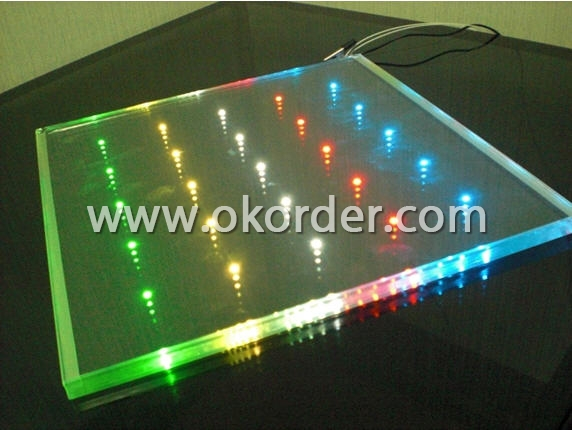 LED GLass with available colors