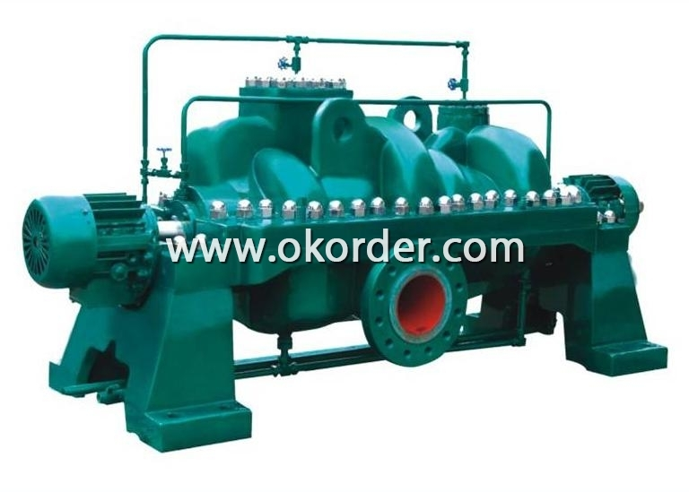 Horizontal Multistage Stainless Steel Centrifugal Pump